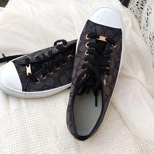 COACH Black Empire Tennis shoes